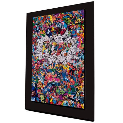 cuadro 60x40cms decorativo comic pop+envío gratis