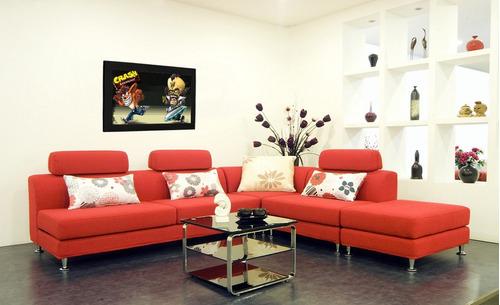 cuadro 60x40cms decorativo crash bandicoot!!!+envío gratis