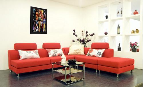 cuadro 60x40cms decorativo dc & marvel!!!+envío gratis