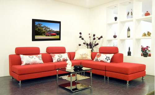 cuadro 60x40cms decorativo ferrari 4!!!+envío gratis
