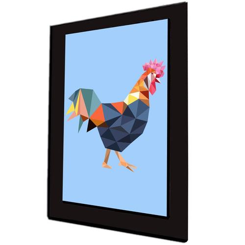 cuadro 60x40cms decorativo gallo!!!+envío gratis
