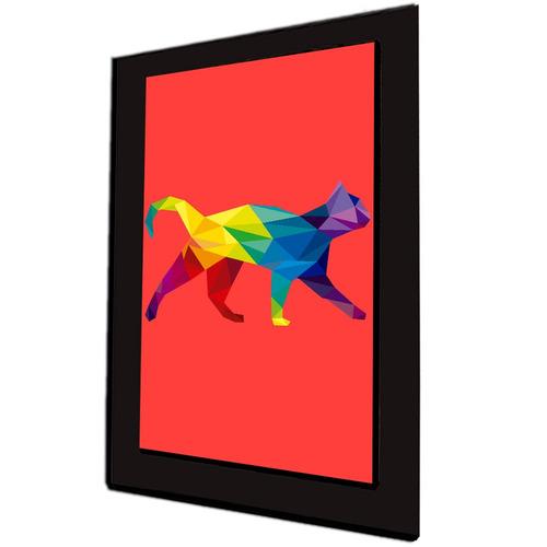 cuadro 60x40cms decorativo gato 3!!!+envío gratis