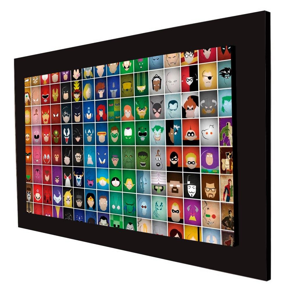 Cuadro 60x40cms Decorativo Heroes Collage + Envío Gratis - $ 59.900 ...