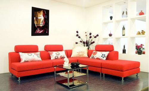 cuadro 60x40cms decorativo ironman polyart+envío gratis