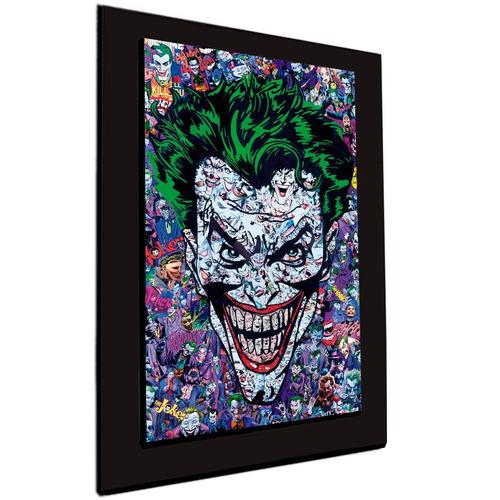 cuadro 60x40cms decorativo joker collage +envío gratis