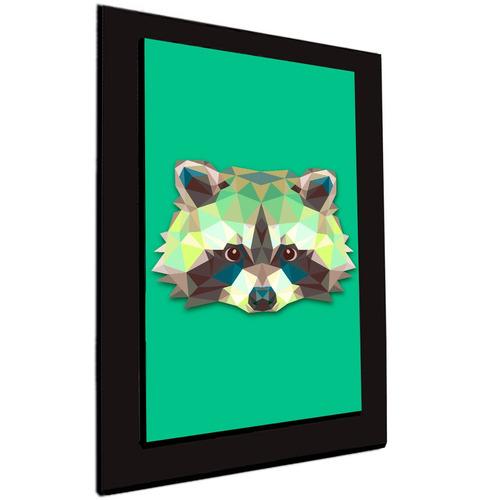 cuadro 60x40cms decorativo mapache!!!+envío gratis