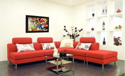 cuadro 60x40cms decorativo mario bros 1 + envío gratis!!!