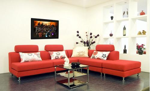cuadro 60x40cms decorativo mortal kombat 4!!!+envío gratis