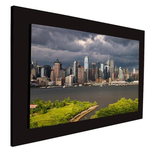 cuadro 60x40cms decorativo new york with cluods+envío gratis