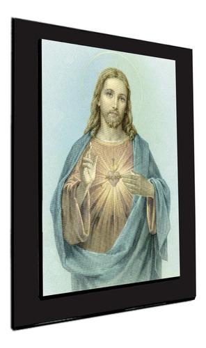 cuadro 60x40cms decorativo sagrado corazon!!!