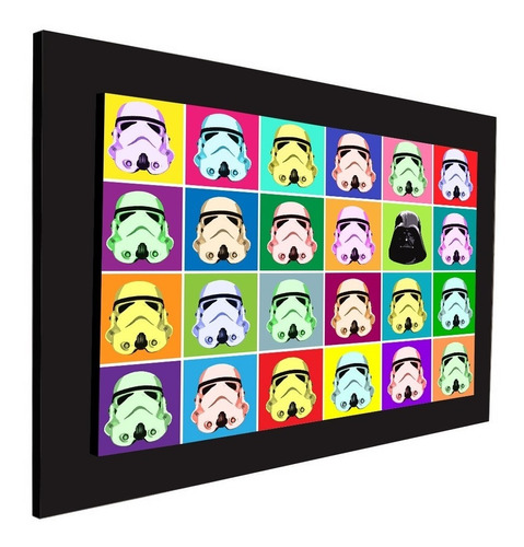 cuadro 60x40cms decorativo starwars 2 !!!+envío gratis
