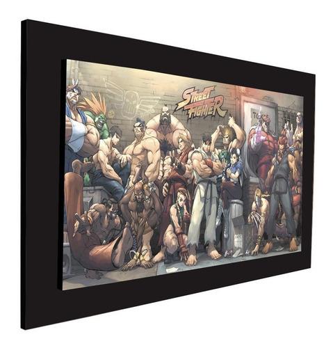 cuadro 60x40cms decorativo street fighter 1!!+envío gratis