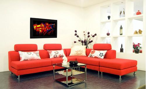 cuadro 60x40cms decorativo superman 1!!!+envío gratis
