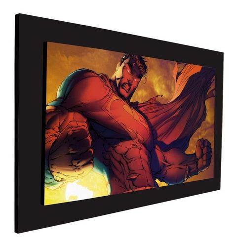 cuadro 60x40cms decorativo superman 2!!!+envío gratis