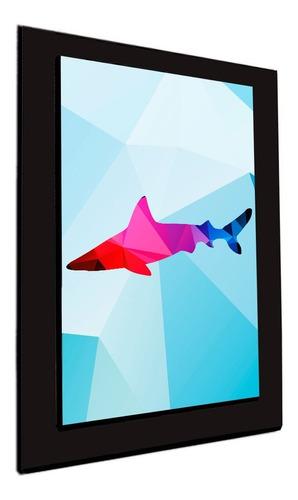 cuadro 60x40cms decorativo tiburon!!!+envío gratis