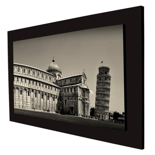 cuadro 60x40cms decorativo torre inclinada de pizza