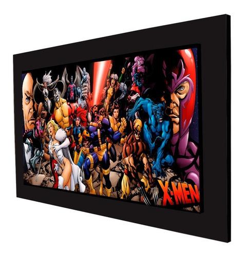cuadro 60x40cms decorativo x-men!!!+envío gratis