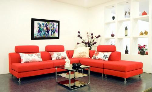 cuadro 60x40cms tipo oleo caballo4 decorativo+envío gratis
