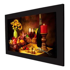 Cuadro 70x50 Cms Decorativo Frutas Y Nueces