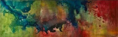 cuadro abstracto 100% original