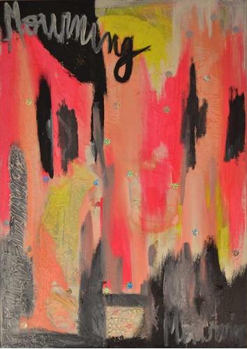 cuadro abstracto decoracion