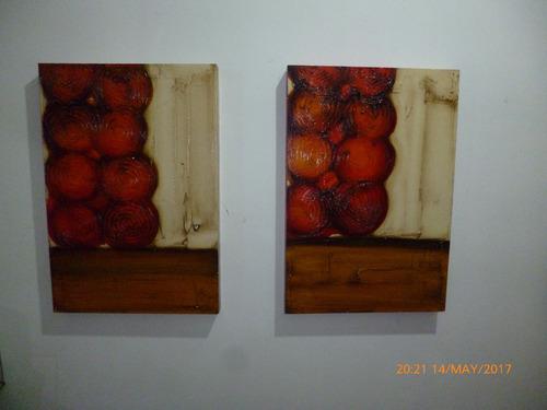 cuadro abstracto, decorativo, moderno acrilico oleo, relieve