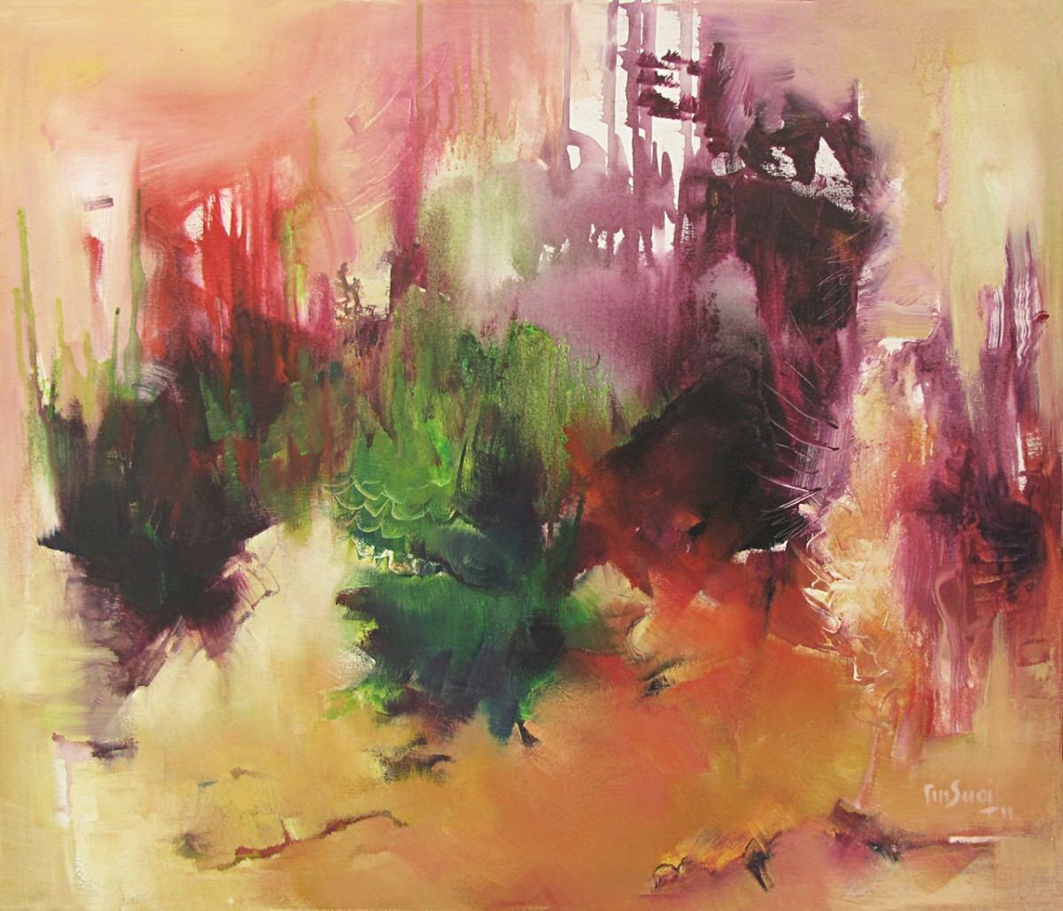 Pintura abstracta en acrilico images - Cuadros para pintar ...