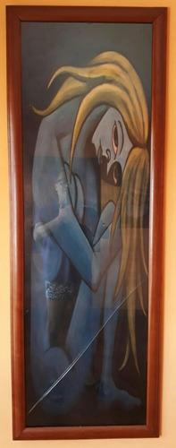 cuadro afiche de 138 cm x 50 cm marco de 5 cm