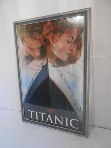 cuadro afiche titanic
