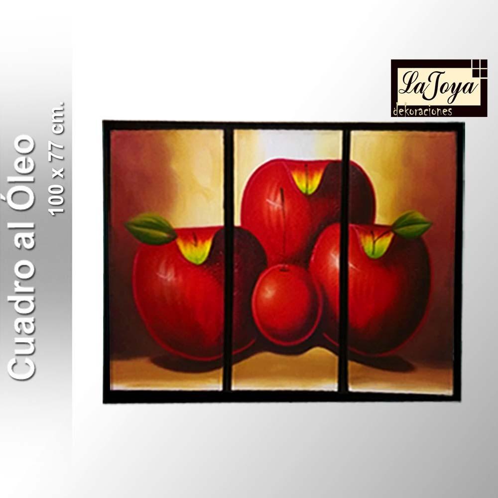 Cuadro Al Óleo - Frutas - Abstractos - $ 549.00 en Mercado Libre