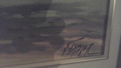 cuadro al oleo realizado por la afamado g espejo r. el avila