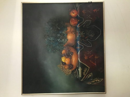 cuadro antiguo oleo