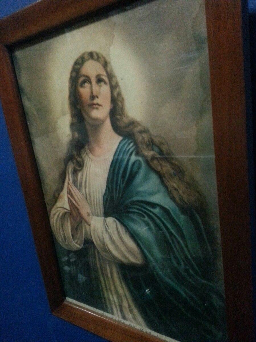 Asombroso Marcos De Cuadros Virgen María Ornamento - Ideas ...