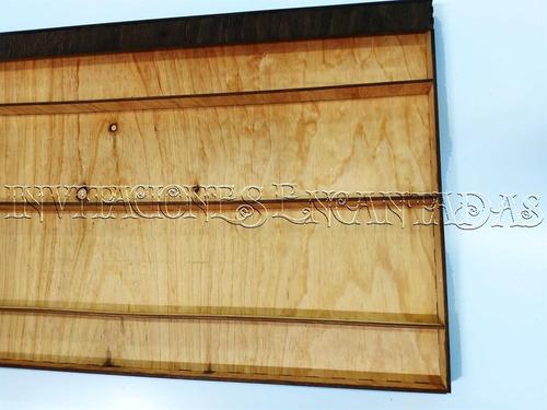 cuadro arbol boda 60x90x5 cms madera 6mm - 100 firmas 001a