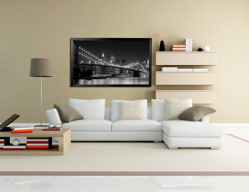 cuadro bastidor new york  en lienzo 110 cm x 60 cm