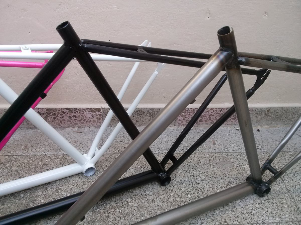 Cuadro Bicicleta Fixie Fixed Rod.28 Frente 1 1/8 Horq Pista ...