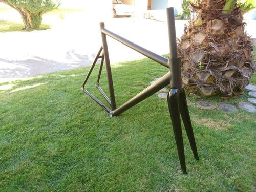 cuadro bicicleta fixie + horquilla factoryfive