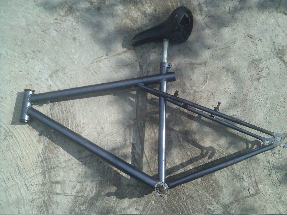 Cuadro Bicicleta Montañera Rin 26 Altura Tubo Asiento 49cm - Bs ...