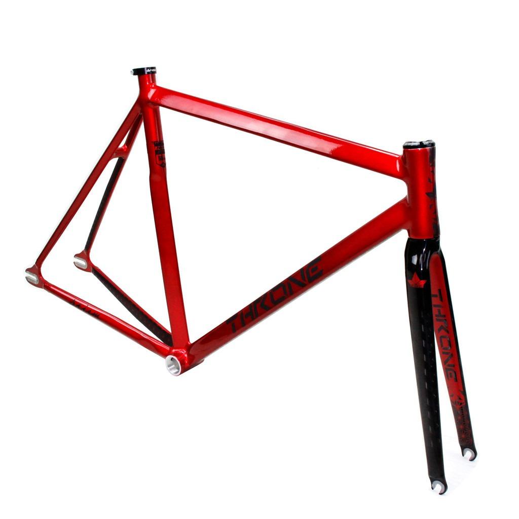 Cuadro Bicicleta Pista Fixed Throne Prism Aluminio-carbono ...
