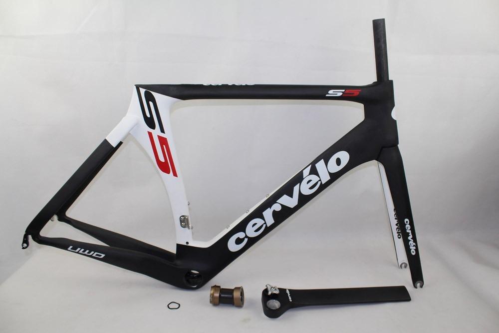 Cuadro Bicicleta Ruta Carbon Cervelo S5 - $ 21,000.00 en Mercado Libre
