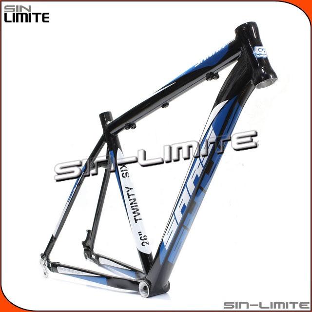 Cuadro Bicicleta Sars Shark R26 Negro C/blanco-azul T19 - $ 3.632,99 ...
