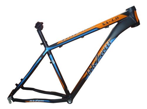 cuadro bkzam xa-40 rod 29 negro/nara/azul t19 - racer bikes
