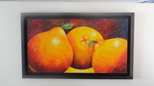 cuadro bodegon frutas
