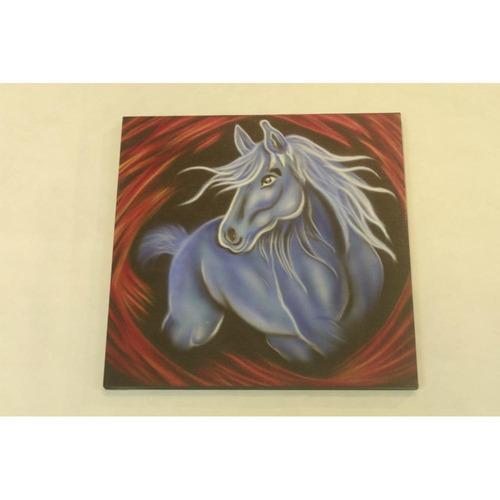 cuadro, caballo decorativo 1
