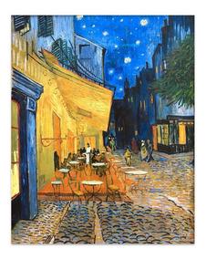 Cuadro Canvas Fine Art Terraza De Cafe Van Gogh 56x70 M Y C