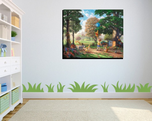 cuadro canvas personalizado disney princesas recamara niña