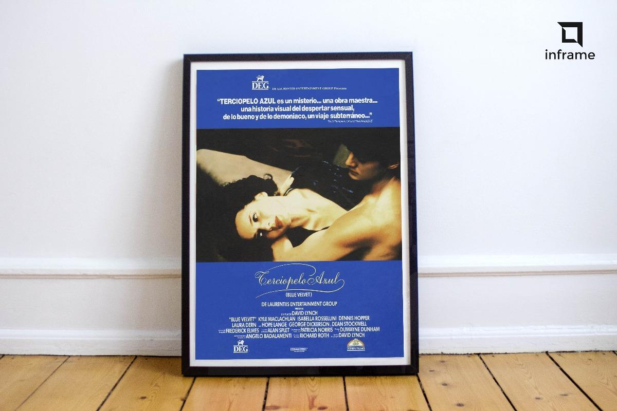 Cuadro Cine Moderno Blue Velvet Poster Decorativo Pelicula - $ 1.210 ...