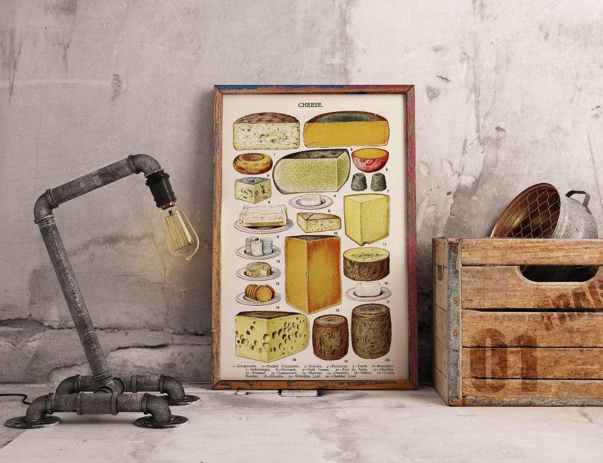 Cuadro Cocina Vintage Decoración Comedor Resto Bar Comidas
