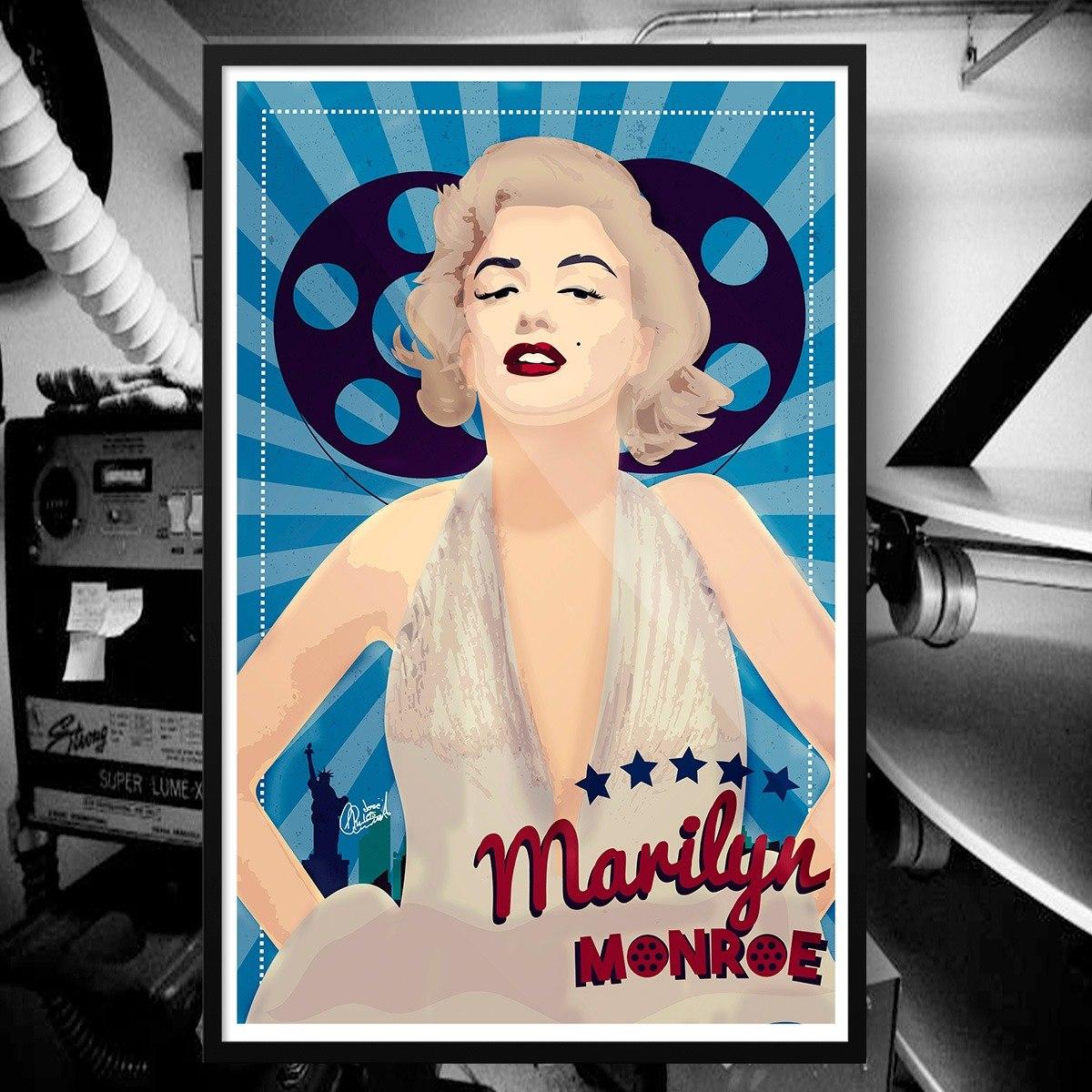 Hermosa Marilyn Monroe Cuadros Enmarcados En Venta Embellecimiento ...