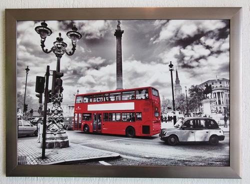 cuadro con impresion en tela, canvas con marco  65 x 45 cm